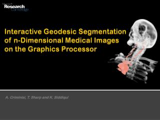 Interactive Geodesic Segmentation of n-Dimensional Medical Images on the Graphics Processor