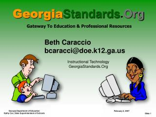 Georgia Standards . Org