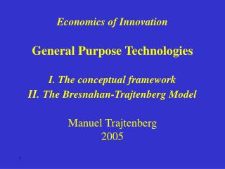 General Purpose Technologies