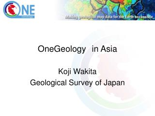 OneGeology in Asia
