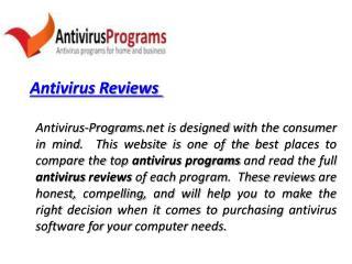 Antivirus Reviews