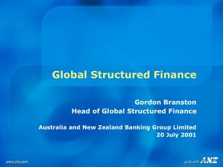 Global Structured Finance