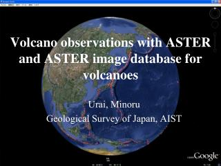 Volcano observations with ASTER and ASTER image database for volcanoes