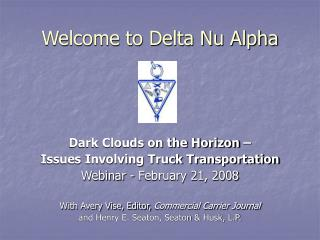 Welcome to Delta Nu Alpha