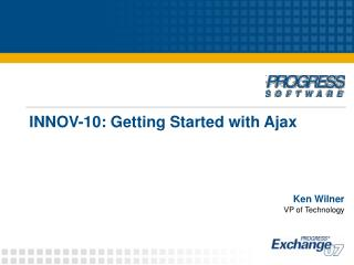 INNOV-10: Getting Started with Ajax