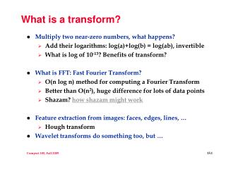 What is a transform?