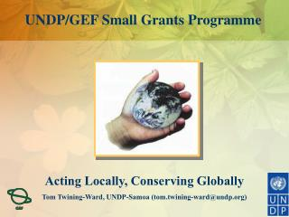 UNDP/GEF Small Grants Programme