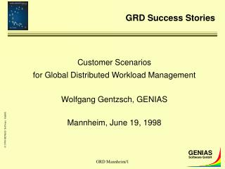 GRD Success Stories