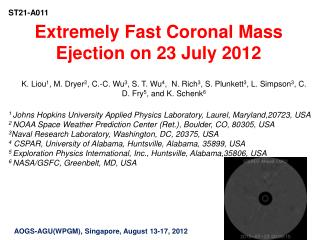 Extremely Fast Coronal Mass Ejection on 23 July 2012