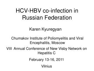 HCV-HBV co-infection in Russian Federation
