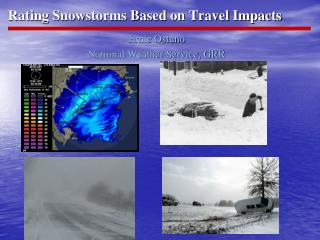 Rating Snowstorms Based on Travel Impacts