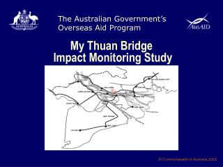 My Thuan Bridge  Impact Monitoring Study
