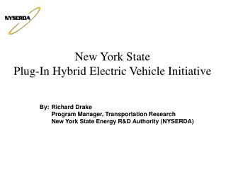 By:	Richard Drake  	Program Manager, Transportation Research