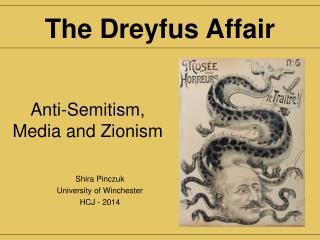 Anti-Semitism, Media and Zionism