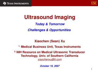 Ultrasound Imaging