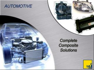 Complete Composite Solutions