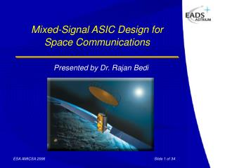 Mixed-Signal ASIC Design for Space Communications
