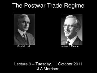 The Postwar Trade Regime