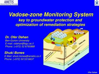 Vadose-zone Monitoring System key to groundwater protection and