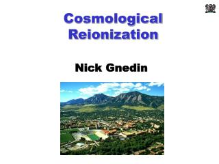 Cosmological Reionization