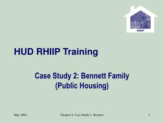 HUD RHIIP Training