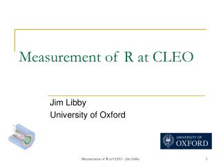 Measurement of R at CLEO