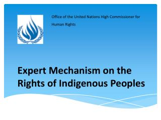 Expert Mechanism on the Rights of Indigenous Peoples