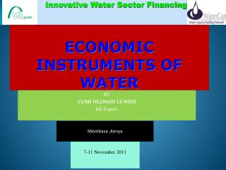 ECONOMIC INSTRUMENTS OF  WATER