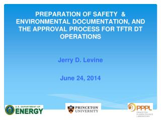 Jerry D. Levine June 24, 2014