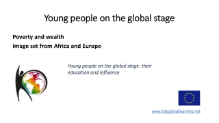 Young people on the global stage