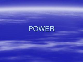 Hydraulic Power Transmission