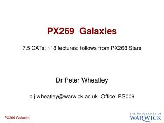 PX269  Galaxies