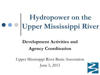 Hydropower on the Upper Mississippi River