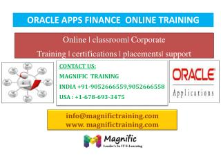 oracle apps finance online training in canada