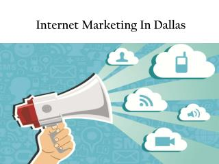 Internet Marketing In Dallas