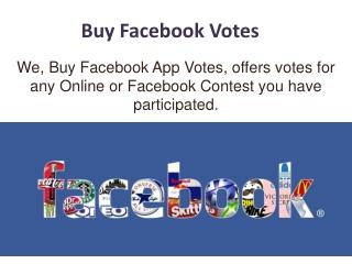 Buy Facebbook Votes