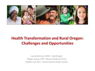 Health Transformation and Rural Oregon: Challenges and Opportunities