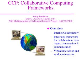 Overview Internet Collaboratory