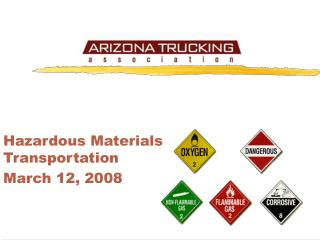 Hazardous Materials Transportation March 12, 2008
