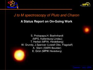 J to M spectroscopy of Pluto and Charon