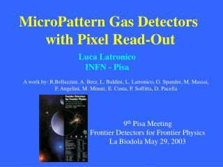MicroPattern Gas Detectors  with Pixel Read-Out