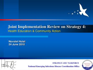 Joint Implementation Review on Strategy 4: Health Education & Community Action