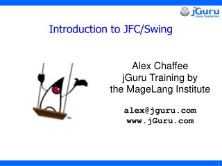 Introduction to JFC/Swing