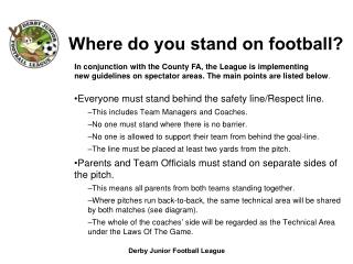 Where do you stand on football?