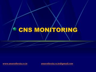 CNS MONITORING