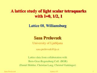 A lattice study of light scalar tetraquarks  with I=0, 1/2, 1