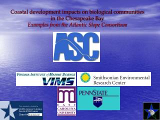 Coastal development impacts on biological communities in the Chesapeake Bay