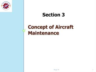 Concept of Aircraft   Maintenance
