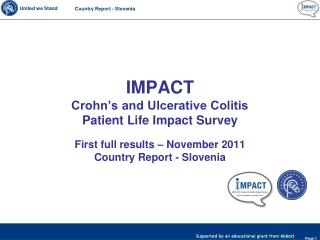 IMPACT  Crohn's and Ulcerative Colitis  Patient Life Impact Survey