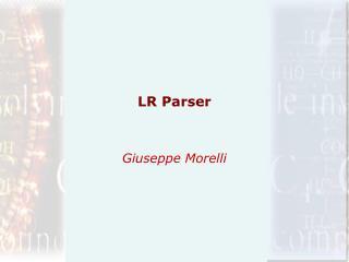 LR Parser